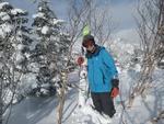 5.日照岳スキー