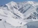 11.別山MTBスキー(別山谷滑走)