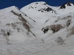 16.白山MTBスキー(平瀬起点、東面台地)