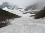 22.白山スキー(ヒルバオ雪渓)