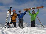 3.大滝山スキー(北北東尾根→北東尾根周回コラボ)