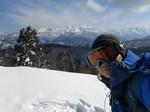 6.護摩堂山スキー