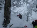 2.大滝山スキー(激ラッセル)