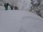 6.猫岳スキー(激雪・雪崩懸念敗退)