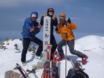 6.白山MTBスキー(湯の谷・釈迦岳・丸岡谷)