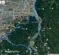 10.北陸先端大学・R360中ノ峠・鳥越周回(57km)