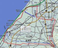 18.白山IC・小舞子足湯・天狗橋周回ライド(47km)