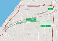 58.白山IC・手取川河口・天狗橋反時計回り周回(48km)