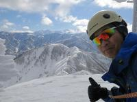 2.白鳥山スキー(激ヤブ)